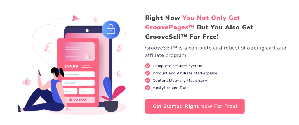GroovePages Pricing Plan