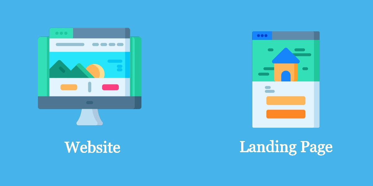Landing Page vs Website